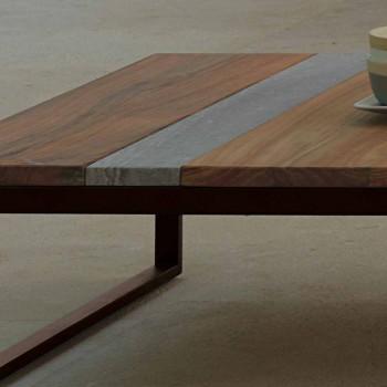 Casilda Talenti Outdoor Couchtisch aus Holz 140x140 cm