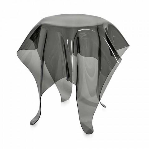 Beistelltisch in modernem Design aus Plexiglas Otto, made in Italy