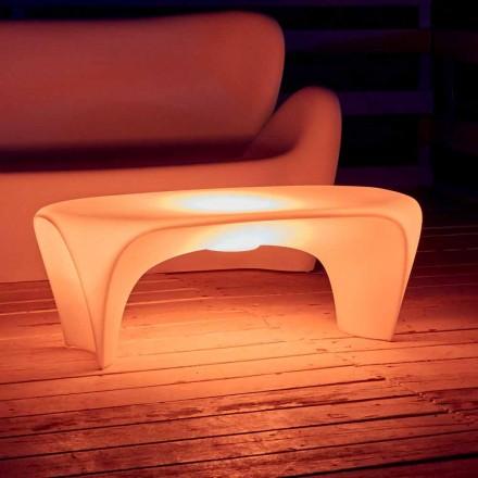 RGB Leuchtender Couchtisch für Outdoor- oder Indoor-Design aus Kunststoff - Lily von Myyour