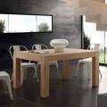 Ausziehbarer Tisch mit Beinen aus Massivholz Indiana