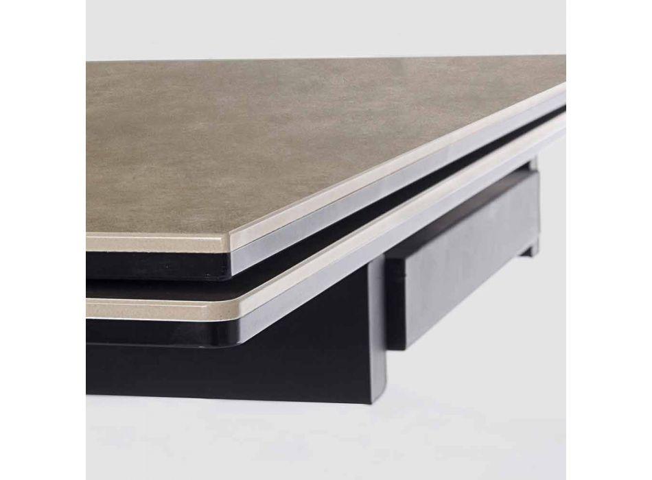 Ausziehbarer Tisch Bis 240 cm mit Homemotion Keramikplatte - Avici