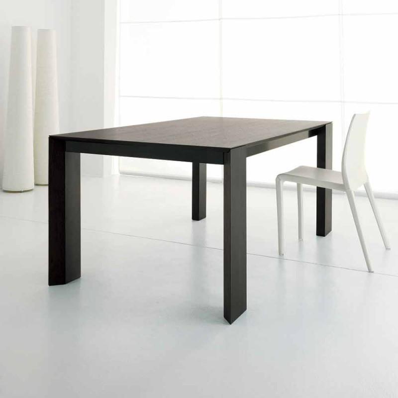Ausziehbarer Tisch Bis zu 245 cm aus Wengè-Eichenholz von Design - Ipanemo