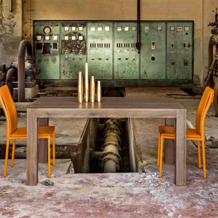 Ausziehbarer bis 300cm Tisch aus Melamin Oky in modernem Design