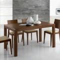 Ausziehbarer Designtisch Bis zu 350 cm aus Eschenholz Made in Italy - Ketla