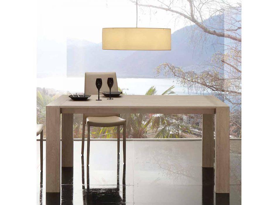 Ausziehbarer Tisch aus Melamin und modernem MDF Jesi