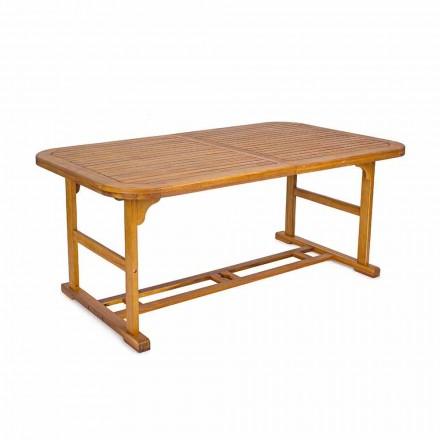 Ausziehbarer Tisch Bis zu 240 cm in Gartenholz, von Design - Roxen