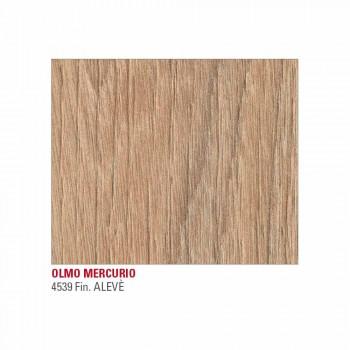 Ausziehbarer Küchentisch bis 240 cm Holzoptik Made in Italy - Maltesisch