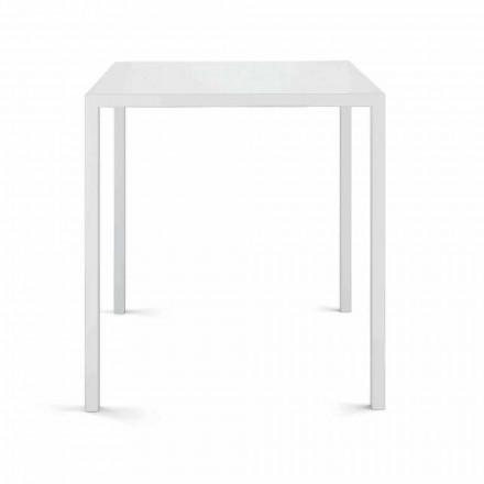 Quadratischer Tisch im Freien Made in Italy - Benedict