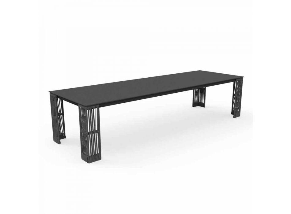 Ausziehbarer Gartentisch bis 300 cm Cliff Talenti von Palomba