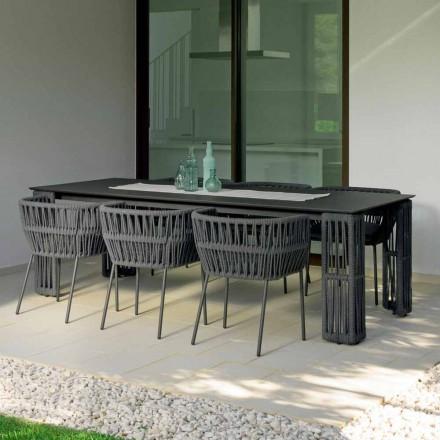 Gartentisch ausziehbar bis zu 300 cm Cliff Talenti by Palomba