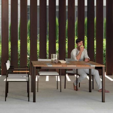 Gartentisch 150 x 150 cm in modernem Design Casilda von Talenti