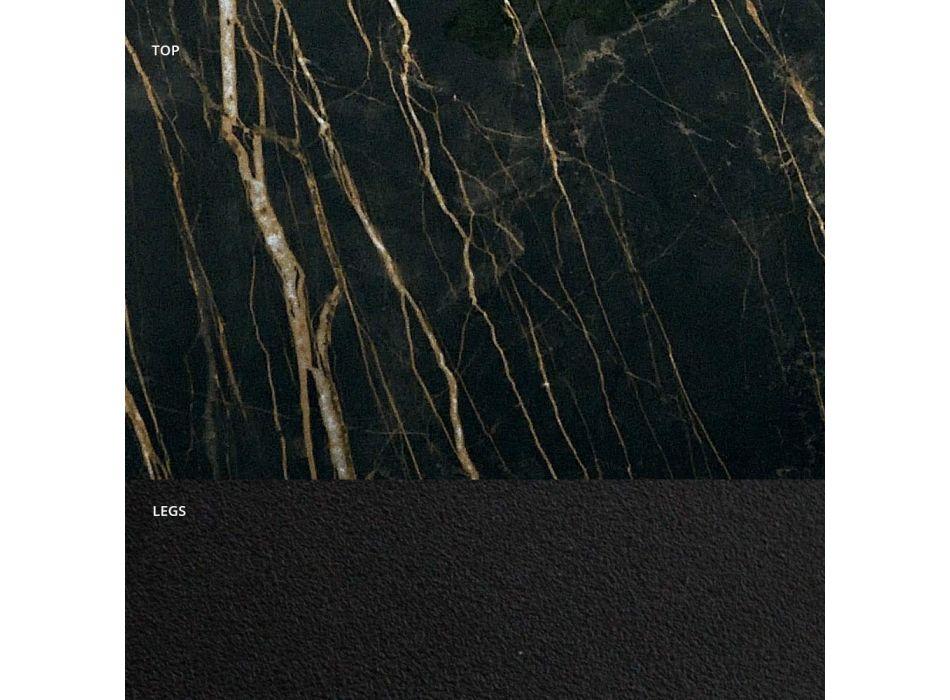 Ausziehbarer Esstisch bis 300 cm in Made in Italy Hypermarble - Grotta