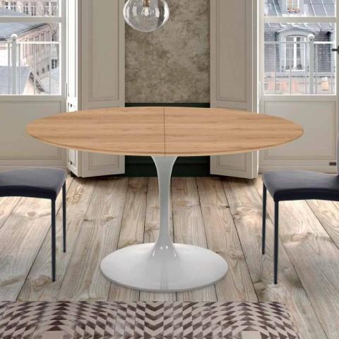 Ausziehbarer Esstisch Bis zu 170 cm aus Laminat Made in Italy - Dollars