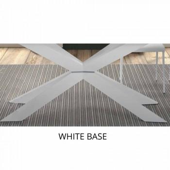 Ausziehbarer Esstisch bis 300 cm aus Laminat Made in Italy - Grotta