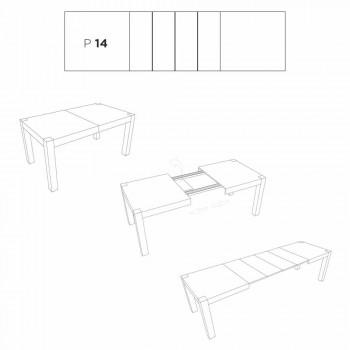 Oky moderner ausziehbarer Esstisch bis zu 320 cm