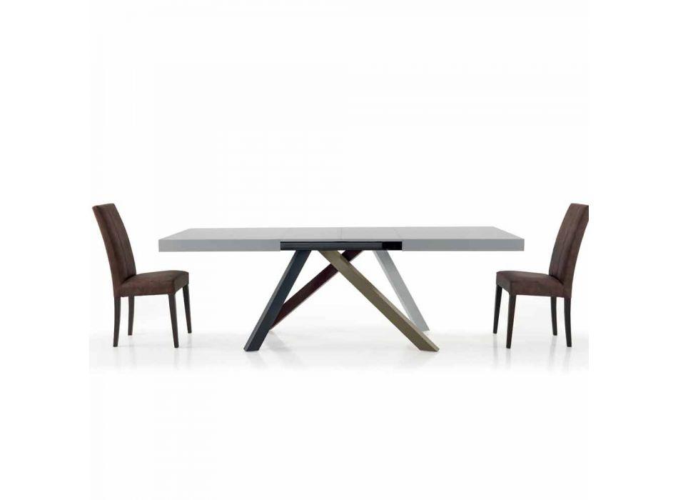 Esstisch ausziehbar bis 450 cm aus laminiertem Holz – Salentino