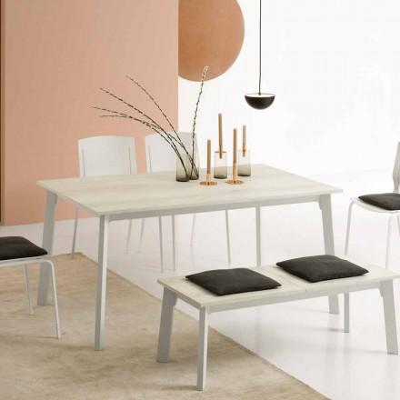 Ausziehbarer Esstisch mit 6/8 Sitzplätzen - Arnara Basic