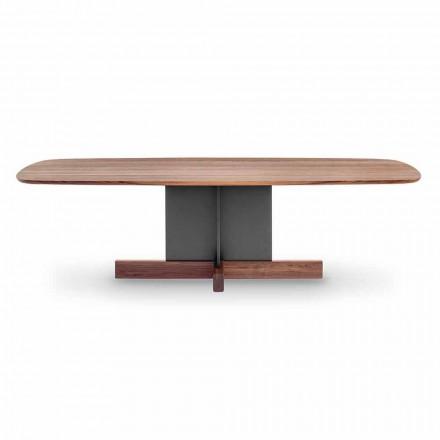Design Esstisch mit Kreuzfuß Made in Italy - Bonaldo Kreuztisch