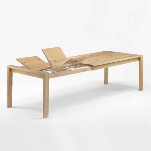 Ausziehbarer Esstisch aus Holz Bis 340 cm Made in Italy - Willow