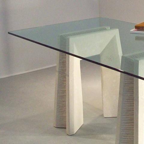 Stein Esstisch und modernes Design Kristall Arianna