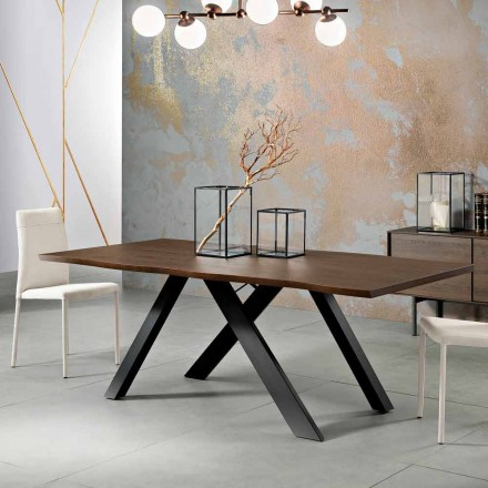Design Massivholztisch made in Italy, Wilmer
