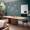 Esstisch aus Massivholz modern Made in Italy - Bonaldo Mellow