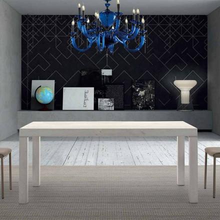 Esstisch aus Melaminholz ausziehbar bis 470 cm Made in Italy – Gordito