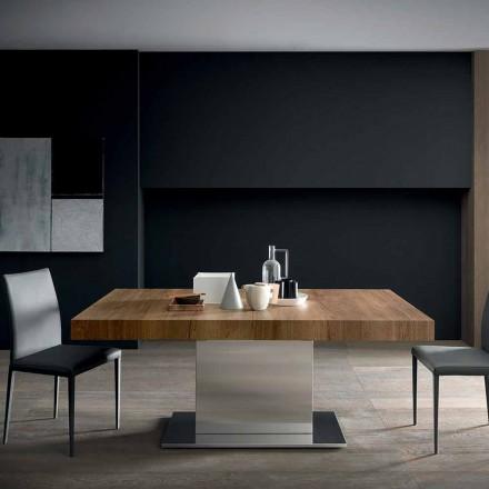 Moderner ausziehbarer Tisch Bis zu 480 cm aus Holz Made in Italy - Michael