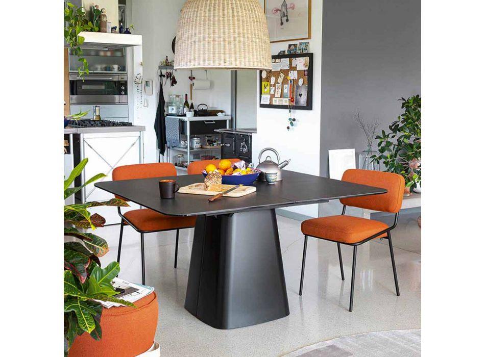 Ausziehbarer Esstisch aus Keramik Made in Italy - Connubia Hey Gio