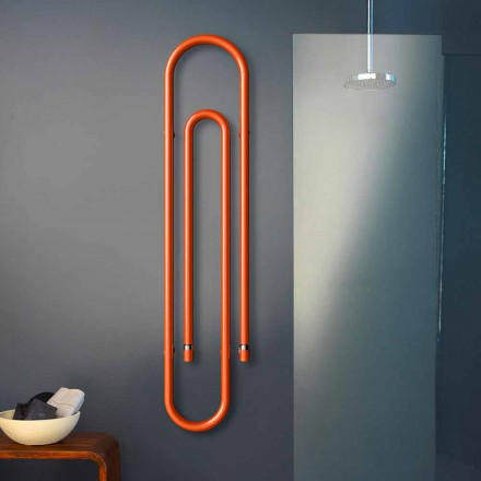 Elektroheizkörper im Büroklammer Design Graffe von Scirocco H