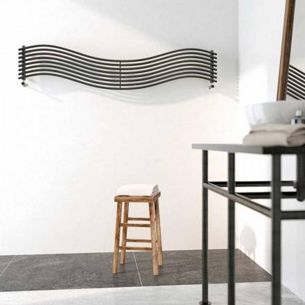 Design Heizkörper hydraulisch aus Stahl Wave von Scirocco H