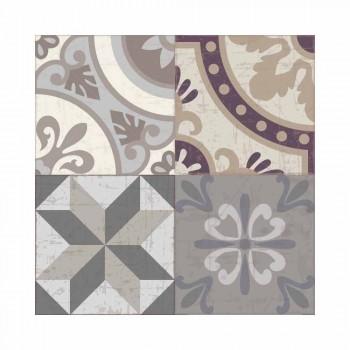 Amerikanisches Tischset aus PVC und waschbarem modernem Polyester, 6 Stück - Malia