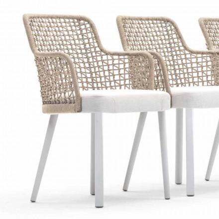 Gepolsterter Outdoor-Sessel in modernem Design Varaschin Emma