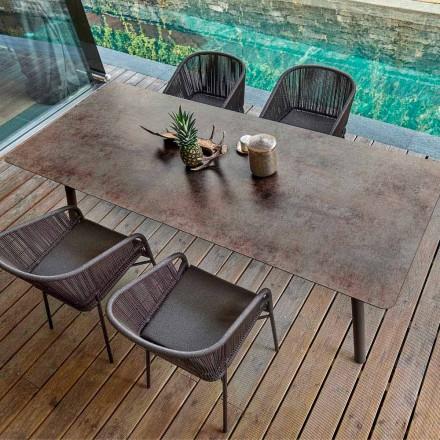 Esstisch Indoor und Outdoor H65 cm Varaschin Link