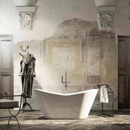 Freistehende Badewanne Ragusa, mit modernem Design, made in Italy
