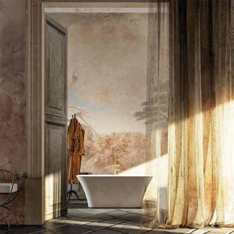 Freistehende Badewanne in modernem Design made in Italy Gallipoli