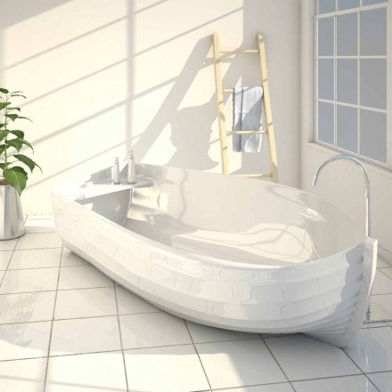 Design badewanne made in italy in schiffsform ocean for Viadurini bagno