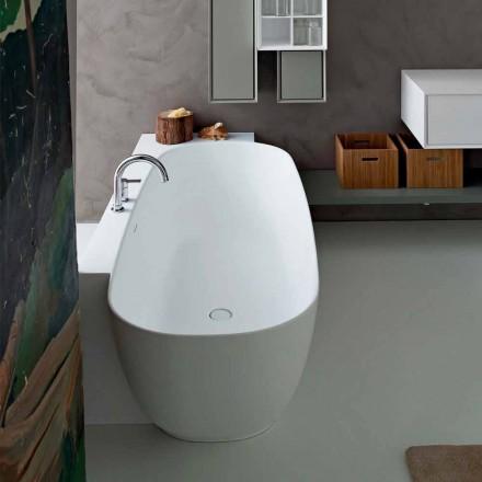 Modern Style White Design Freistehende Badewanne - Lipperiavas1