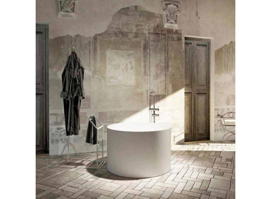 Runde freistehende Design-Badewanne aus italienischem Cremona