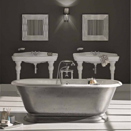 Badewanne Freestanding in modernem Design Pierce
