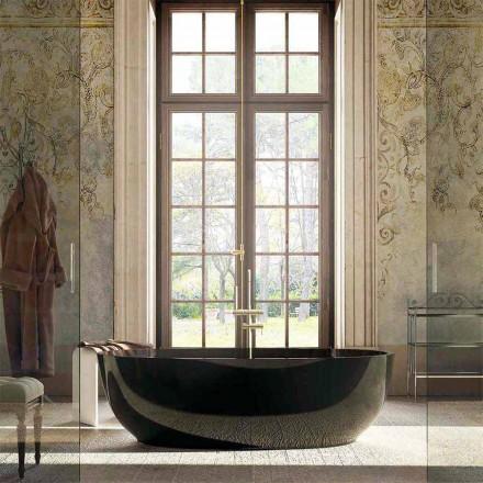 Design freistehende Badewanne Fabriano, made in Italy
