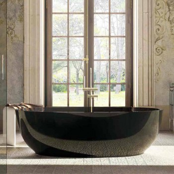Design ovalbadewanne freestanding fabriano made in italy - Ovale wandregale ...