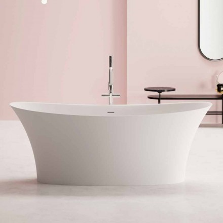 moderne Freestanding Badewanne, Solid Surface Design - Look