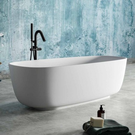 moderne Freestanding Badewanne Solid Surface Design - Canossa