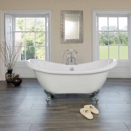 Modernes Design weiß Acryl freistehende Badewanne Spring 1750x720mm