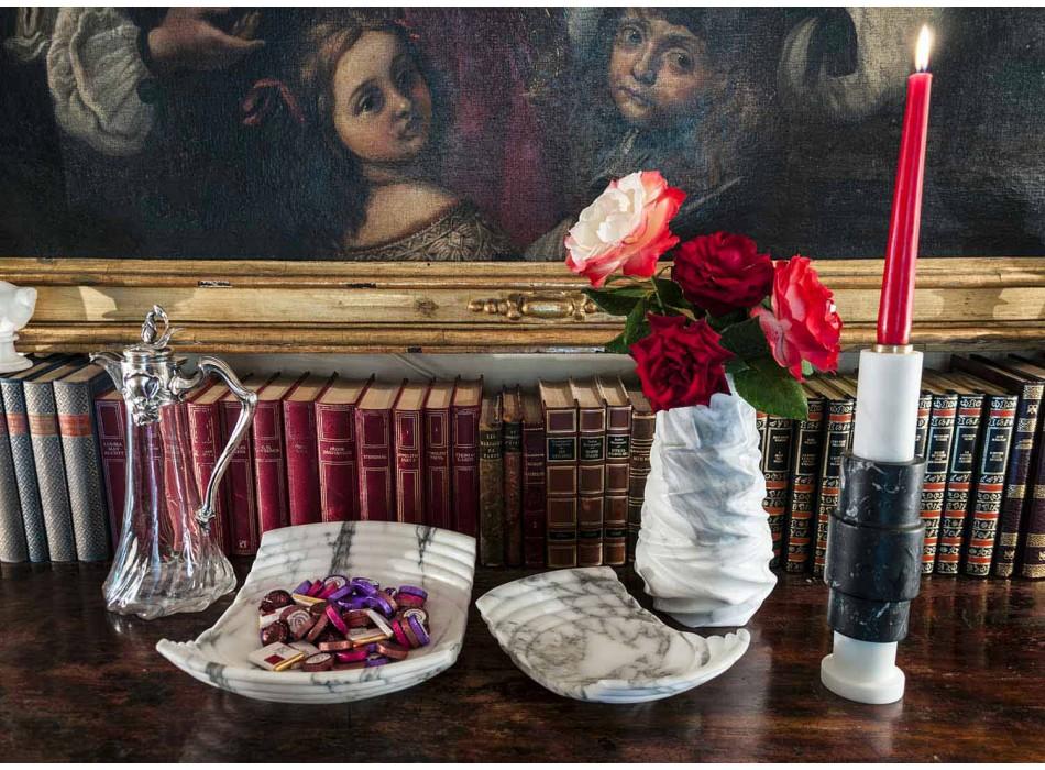 Arabesque Marble Design dekorative Vase Made in Italy - Brock