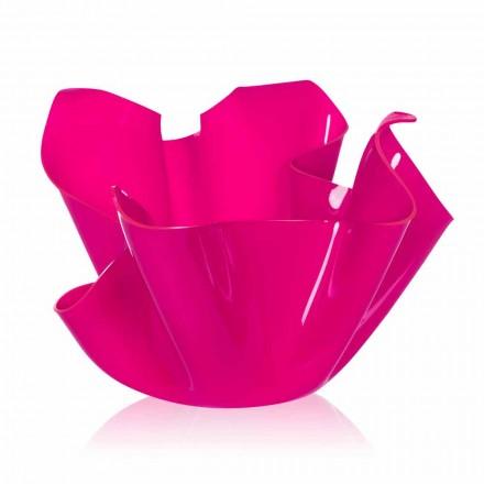Fuchsia Vase für drinnen / draussen Design Pina, made in Italy