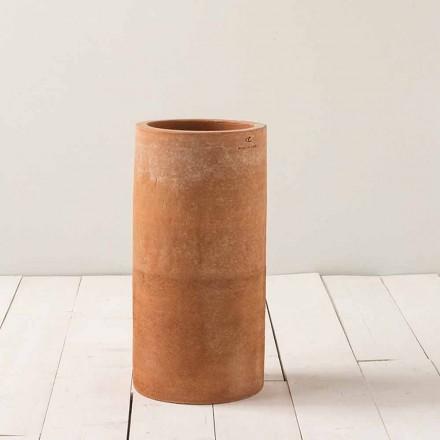 Moderne Außenvase aus Ton H 50 cm Tirrenia - Toscot