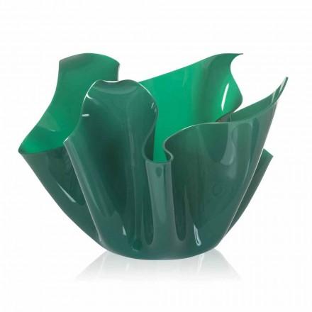 Pina Grün Indoor / Outdoor Mehrzweck-Vase, modernes Design in Italien hergestellt