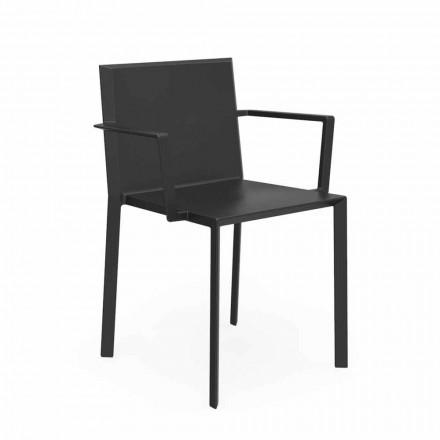 Vondom Quartz Gartenstuhl mir Armlehnen von Design, L52xP57xH79cm